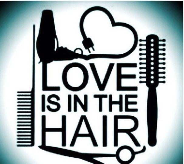 I love hair salon