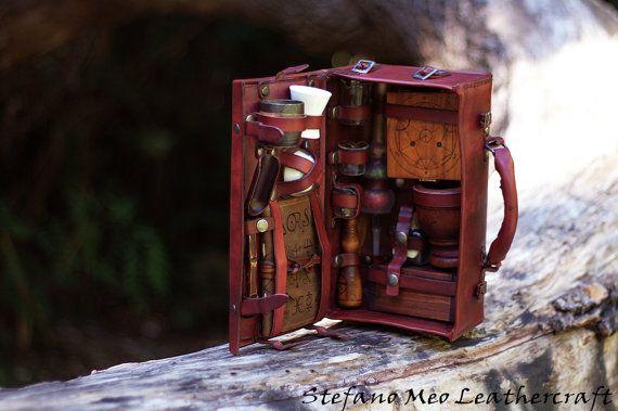LARP - Alchemist kit - Portable Alchemic lab                                                                                                                                                                                 More