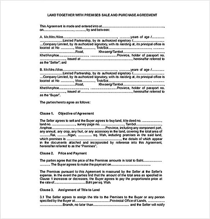 Example Land Sales Agreement Template , Reliable Sales Agreement Template for Free to Copy , Sales agreement template helps you arrange a good sales agreement. This contains several parts including the parties, date, service, and agreement.
