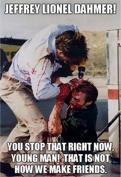 dark humor on Pinterest | Ted Bundy, Serial Killers and Freddy Krueger
