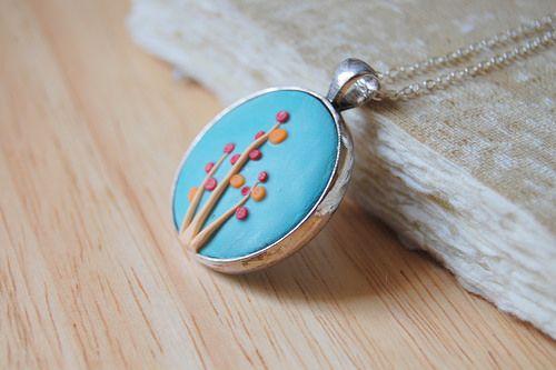handmade polymer clay jewelry