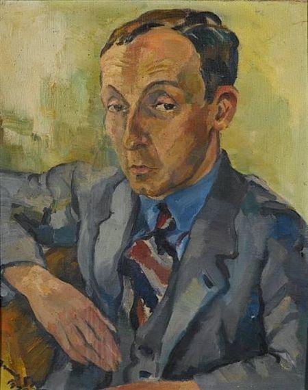 Irma Stern, Portrait of Dr Frederick Bodmer