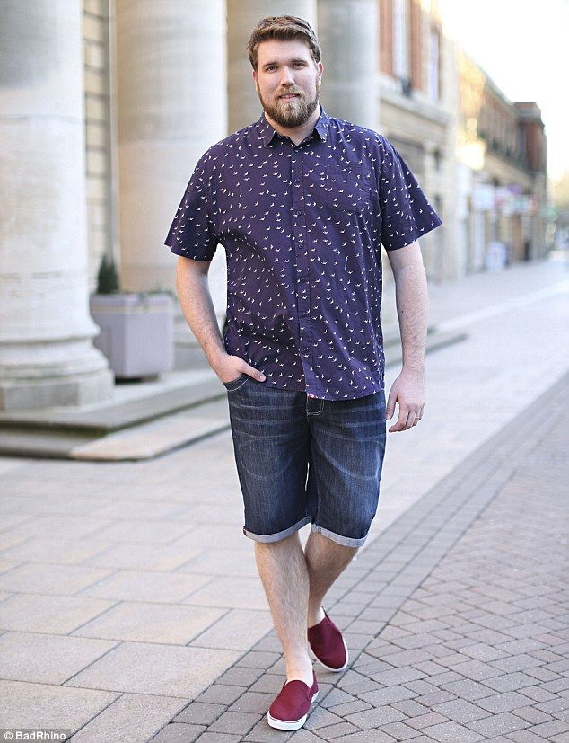 Dressing style for fat guys