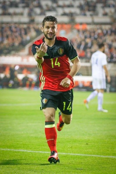 Belgium's Red Devil Dries Mertens