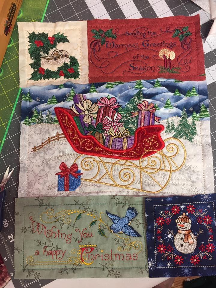 Victorian Christmas Quilt Special Edition Anita Goodesign