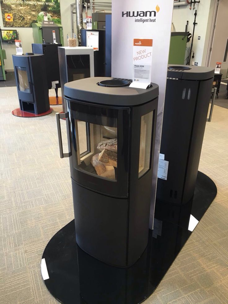 HWAM 4530 Wood burning stove - soon to be launched in the UK