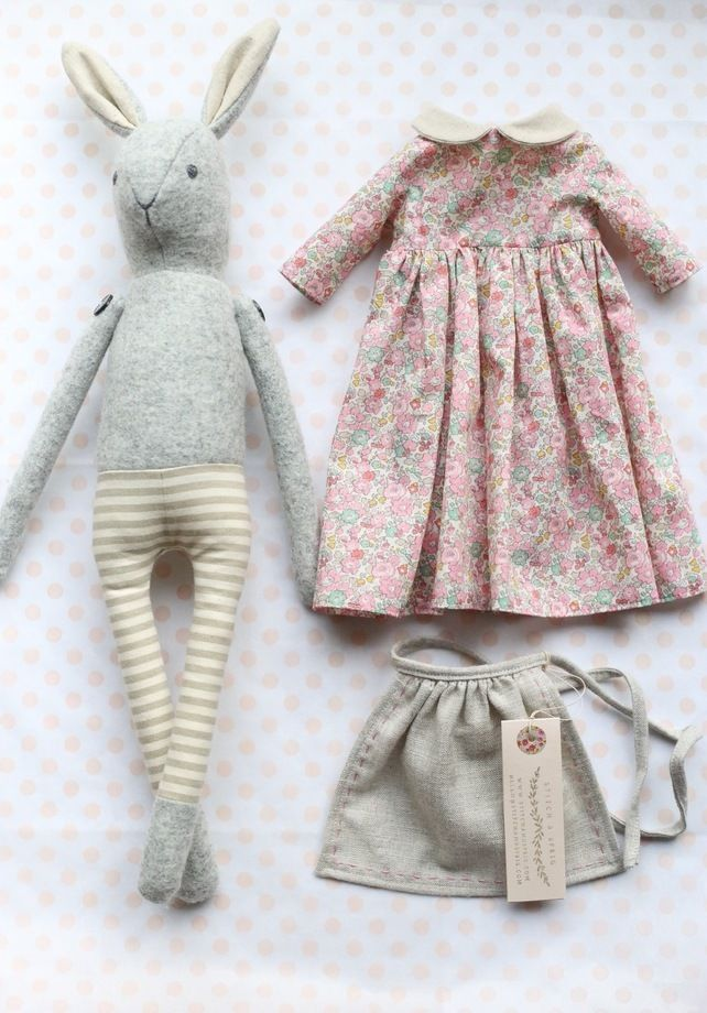 Mrs Rabbit - Liberty Betsy Ann pale pink