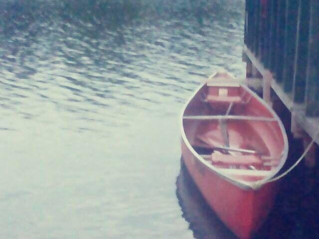 Keep Calm And Cannoe. Lake George.