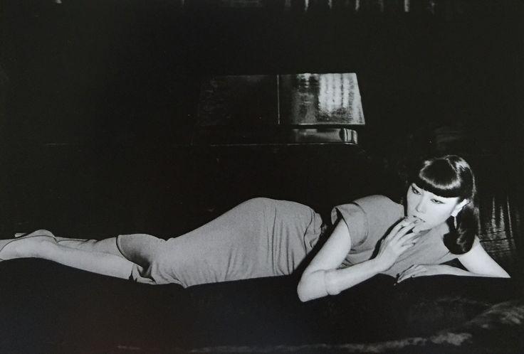 Sayoko Yamaguchi 山口小夜子 about1980 photographed by Masami Kume