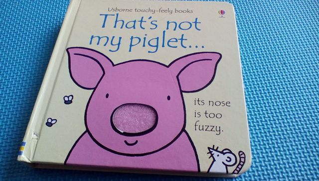 That's Not My Piglet – Usborne Touchy Feely Book