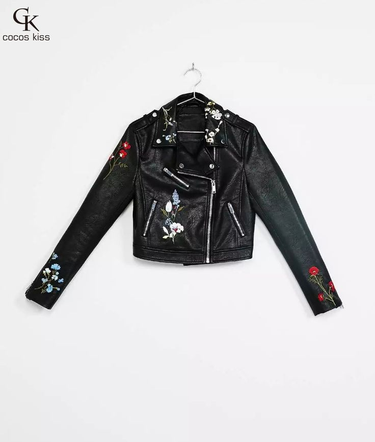 #aliexpress, #fashion, #outfit, #apparel, #shoes #aliexpress, #Fashion, #casual, #short, #Leather, #jacket, #women, #sleeve, #collar, #Flower, #Embroidery, #women, #jacket