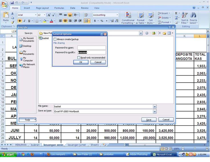 Cara Menghilangkan Password File Microsoft Excel | Damai Abadi