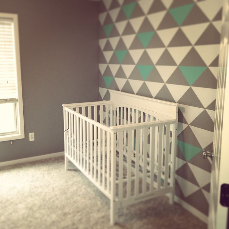 great accent wall ideas for a baby nursery - Baby Wall Designs
