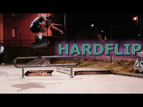 Know How to Hardflip or GO HOME!! || TRICK PROCESS - YouTube