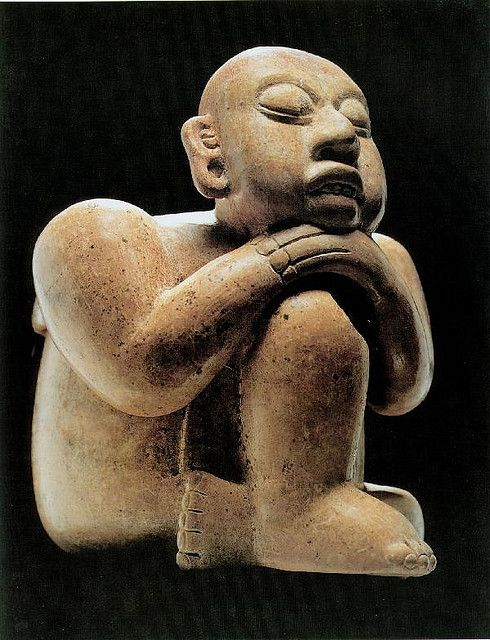 Effigy Vessel (600-900 Maya, Chiapas, Museo Regional de Chiapas, Mexico)