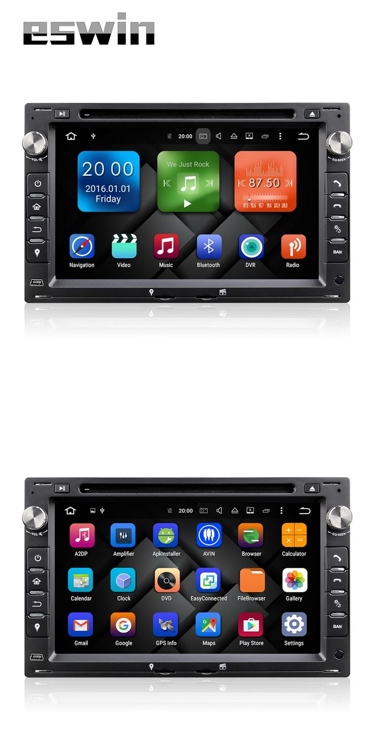 Android 6.0.1 Car DVD Player Auto Radio GPS For VW Transporter T4/T5 Bora Passat Mk5 Golf Mk4 Polo Jetta Peugeot 307 1998-2008