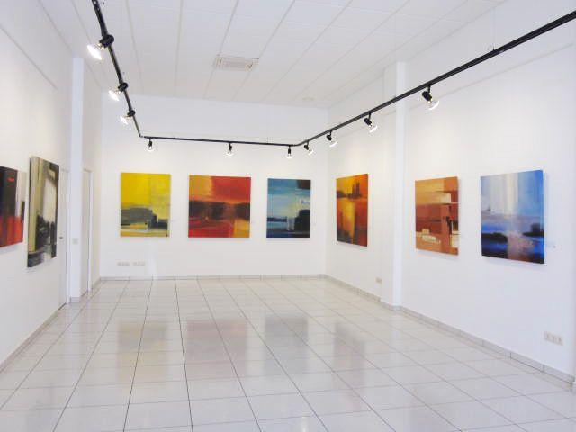 """Exposición de Àngela Icart """"Oratge"""" (Abril 2012)"""