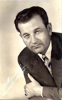 "Milburn Stone in his early days before he played Doc on ""Gunsmoke"""