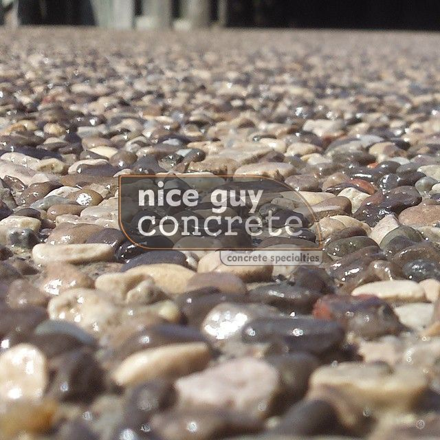 exposed aggregate concrete contractor in #Georgetown, Ontario #exposedaggregate #concretecontractor