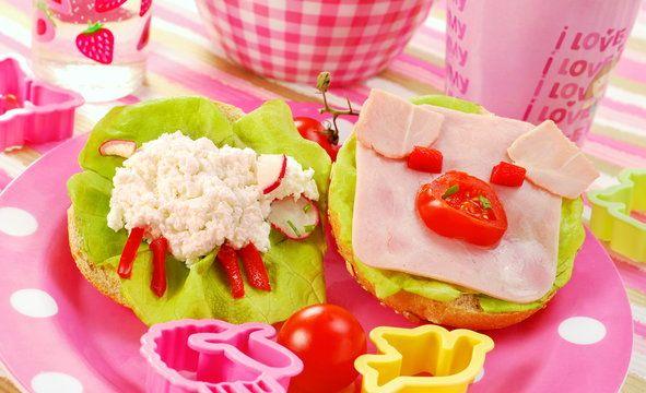 Kanapki dla dzieci - Galeria - zdjęcie 6/11 - Onet Gotowanie