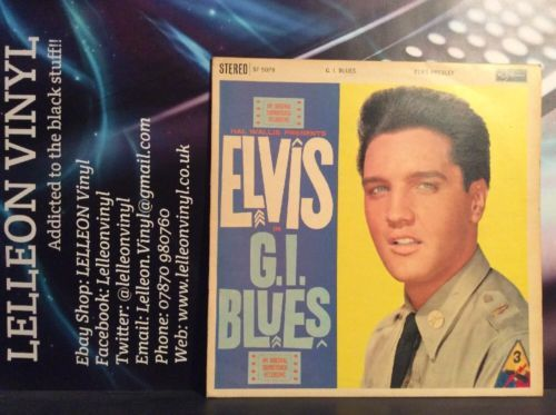 Elvis G.l. Blues Original Soundtrack LP Vinyl SF-5078 4E/5E Film Movie 1960 60's Music:Records:Albums/ LPs:Soundtracks/ Themes:Film