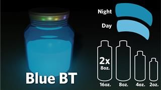Bright Time Glow Paint | Glow-in-the-Dark Strontium Aluminate Paints - GloNation