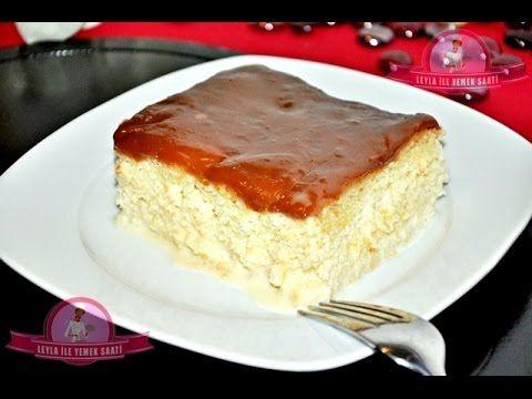 Trileçe Tarifi - Tres Leches (Milk Cake) - Milchkuchen Rezepte