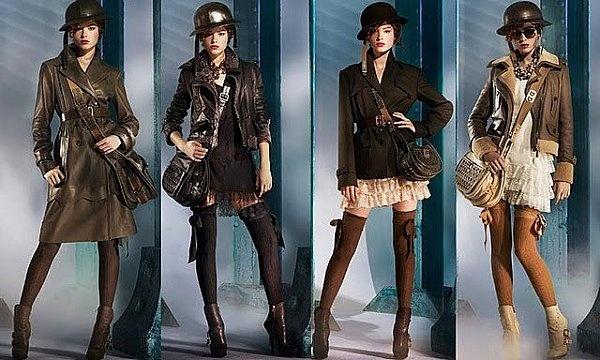 Dieselpunk fashion--attribution unknown.