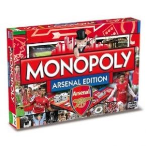 Official Football Club #Monopoly  - #Arsenal F.C. Monopoly [May 2013] - £28.50 :: 100sof