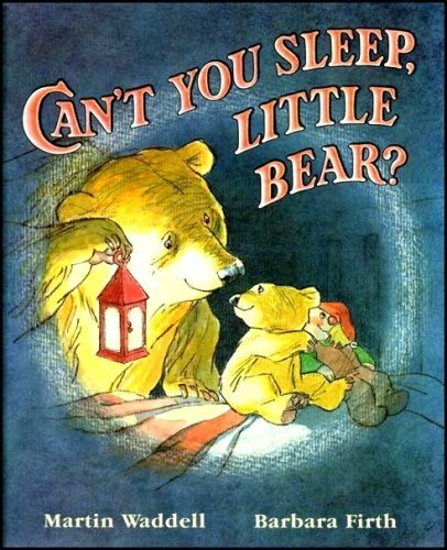 Martin Waddell's Can't You Sleep, Little Bear? I just bought this book for my nephew - hope he loves it as much as I did!