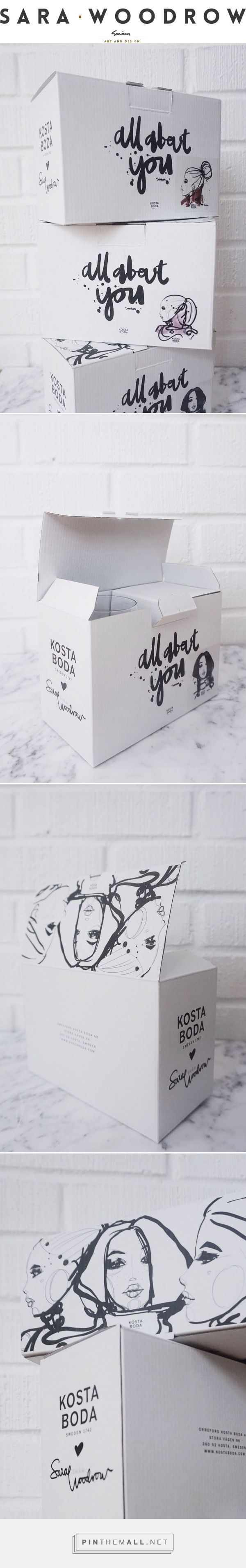 ALL ABOUT YOU – THE BOX via  S A R A • W O O D R O W curated by Packaging Diva PD. Kosta Boda glass packaging. In case you don't know the name fine glass and crystal too.