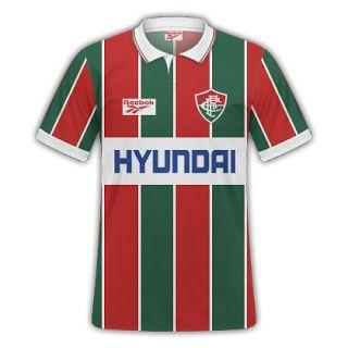 GT Camisas: Camisas Fluminense 1995 - Home e Away