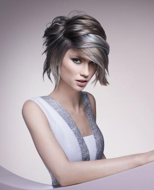 Haartrends 2012: grijs haarGlamourista – kapsels 2014, kapsels 2013, Uggs sale, korting, kortingscode, dameskapsels 2013, solden