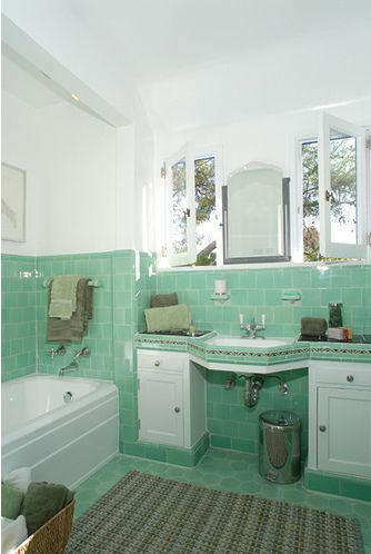 11 best 1930 home images on Pinterest Bathroom, Kitchens and - best of world map bathroom decor