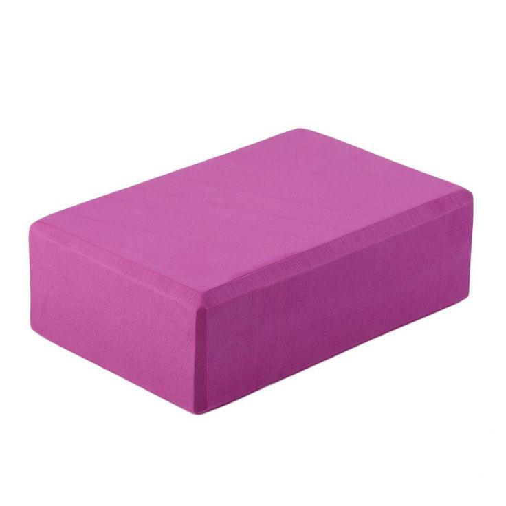 Sales Promotion 23*15*8cm Home Exercise Tool Good Material EVA black Yoga Block Brick Foam Sport Tools wholesale