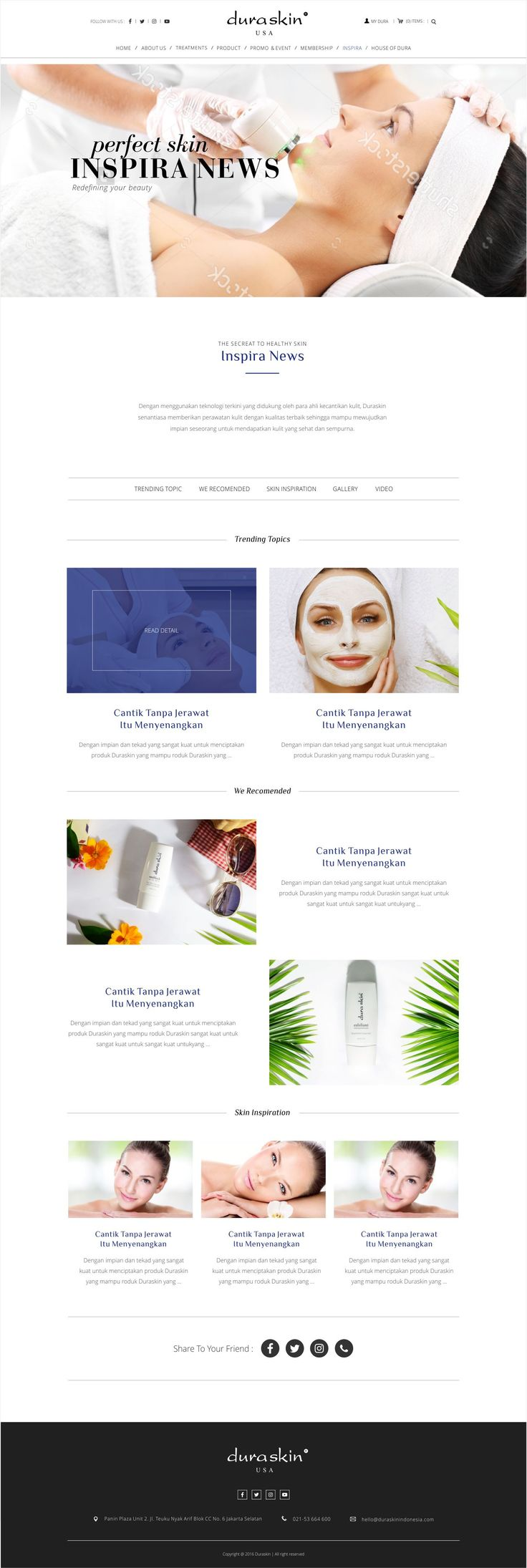 Rian Design Website modern, responsive, simple and elegant
