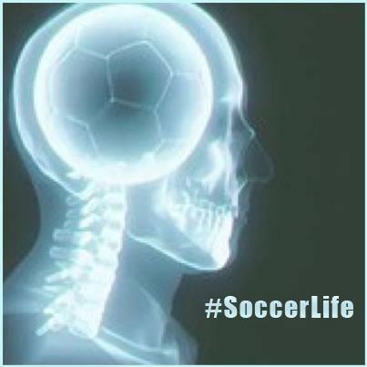 Soccer on the brain. #SoccerLife