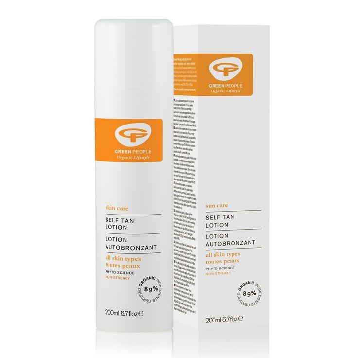 Organic Self Tan Lotion 200ml | Natural Fake Tan from Green People