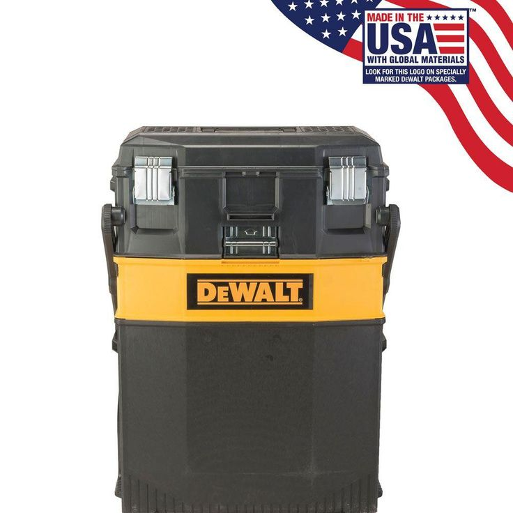 DEWALT 16 in. 4-in-1 Cantilever Tool Box Mobile Work Center