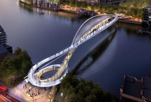 87 brilliant designs for a new pedestrian-cycling bridge in London: http://f-st.co/Hlh6mWC