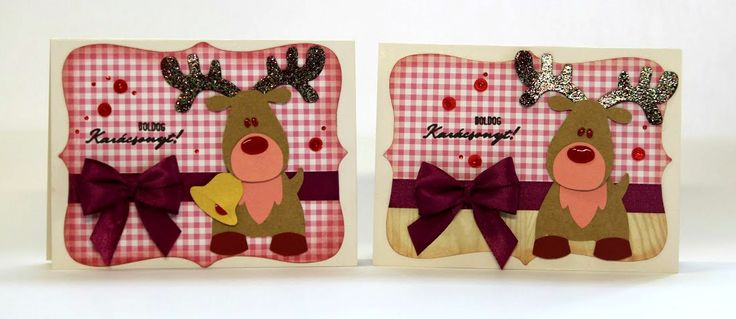 xmas cards with a Marianne design die set