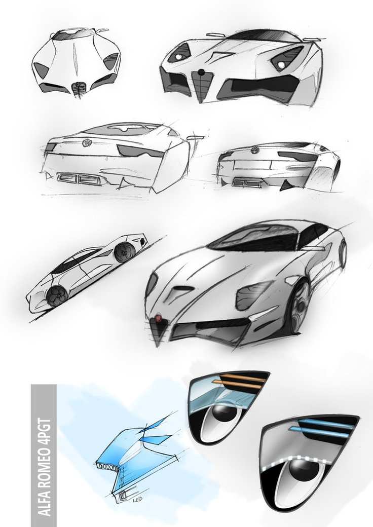 Alfa Romeo 4PGT: Illustration