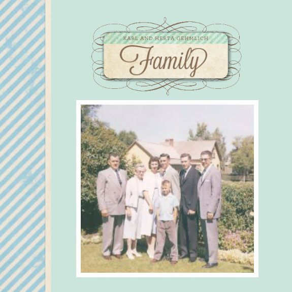 17 best Family History Book (and other) Templates images on Pinterest