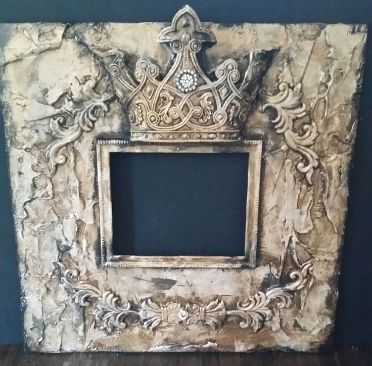 Michelle Butler Designs King George Crown Picture Frame