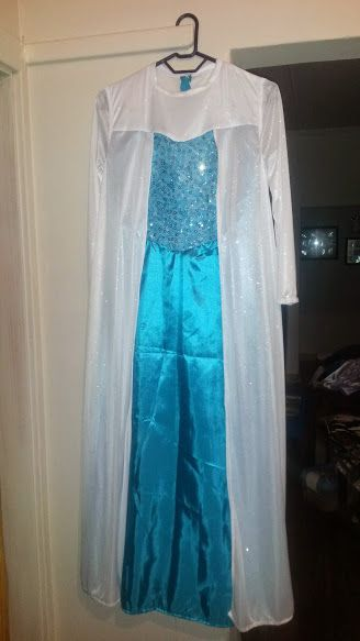 Frozen Dress - 8-9 years | bidorbuy.co.za