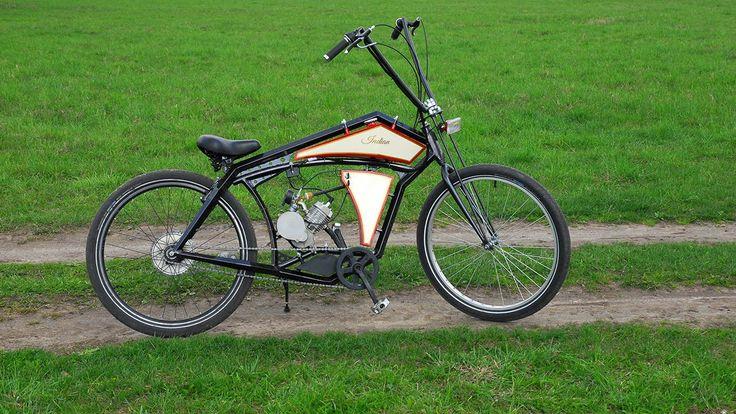 Board tracker (велосипед с мотором) часть 3