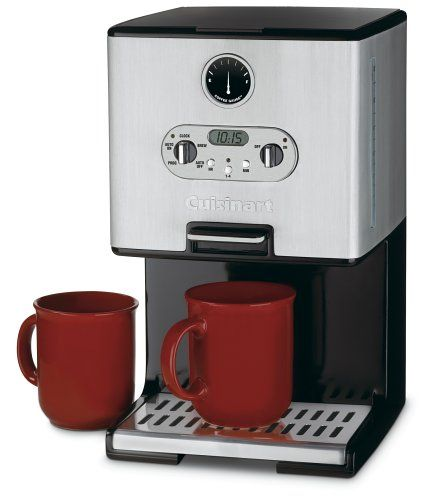 Cuisinart K Cup Coffee Maker Instructions : Cuisinart DCC-2000 Coffee-on-Demand 12-Cup Programmable Coffeemaker, Brushed Metal Cuisinart ...