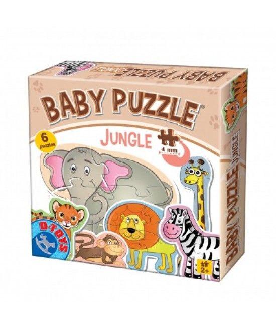 Puzzle-urile din gama Baby Puzzle sunt special concepute pentru copii cu varste intre 2-4 ani.