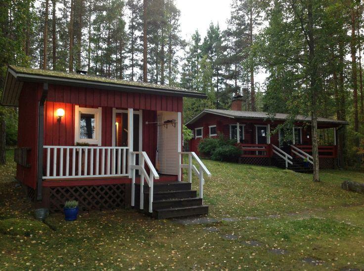 Sauna and cottage