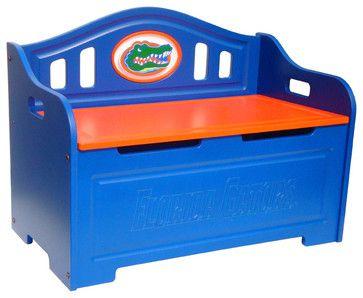 Университет Флориды NCAA Bench Логотип хранения современные спальней-скамейки